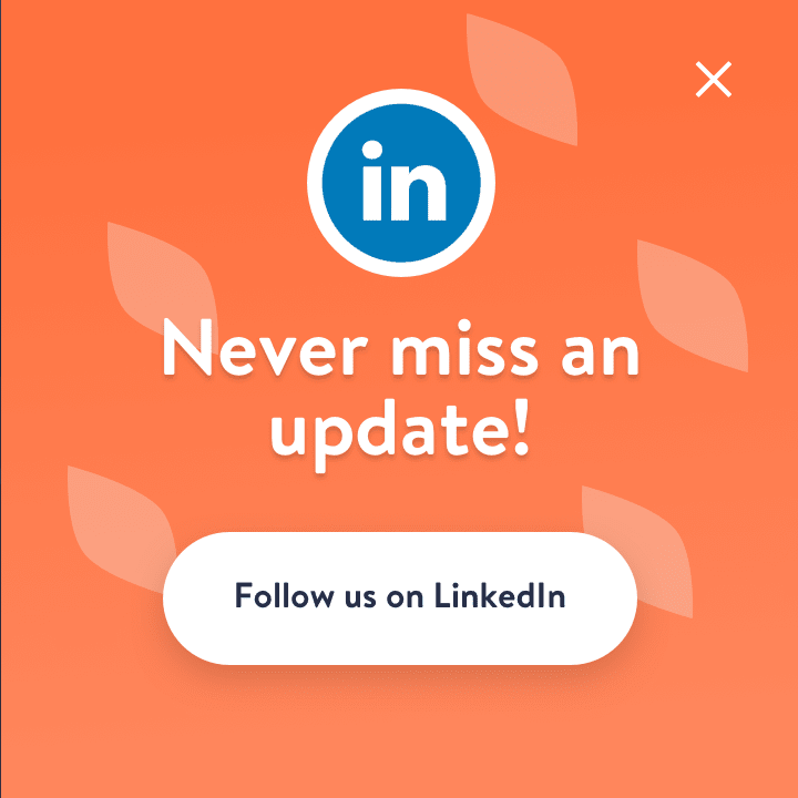 Never miss an update! Follow us on LinkedIn