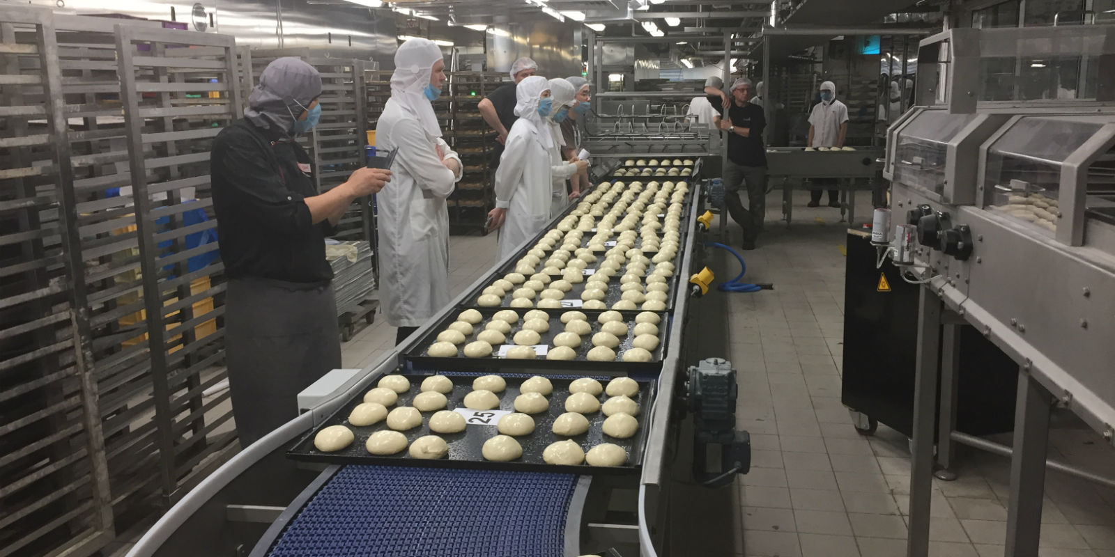 start-up bakery production line