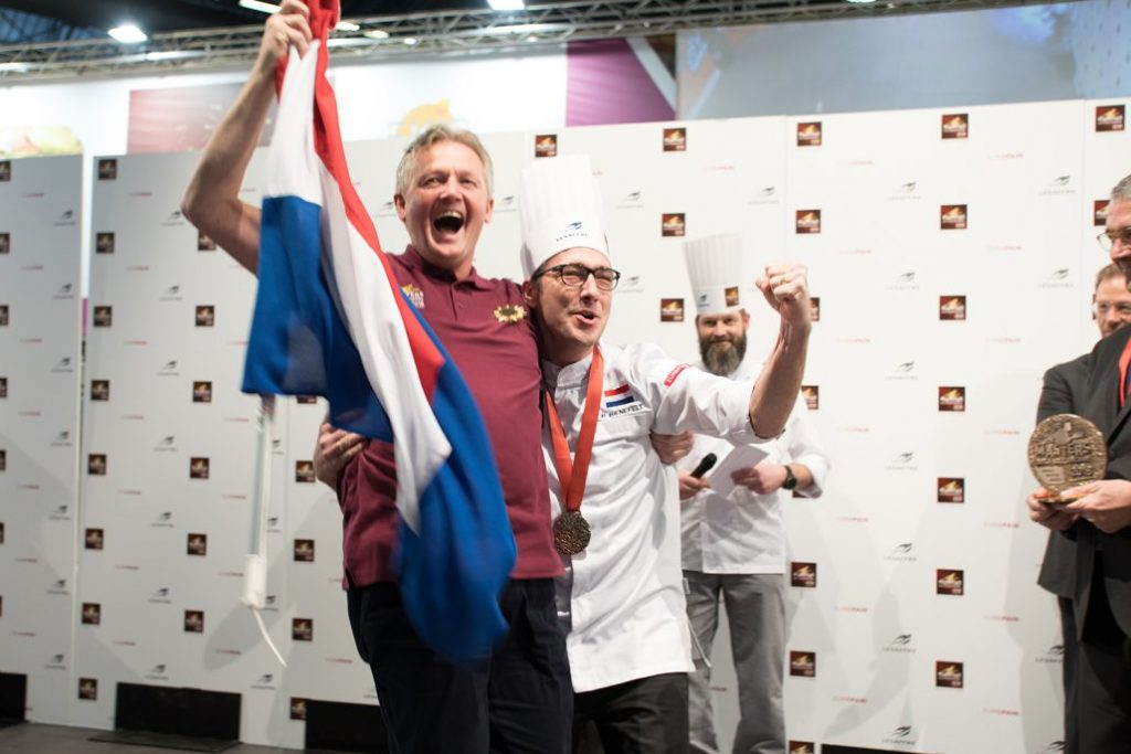 Peter Bienefelt wins bakery masters Paris